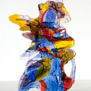 Geen titel, 2008, 43x30x5cm, fused glass