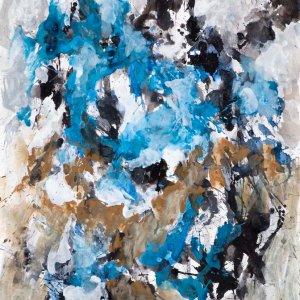 Winter air, 2007, 80x65cm, gouache op papier
