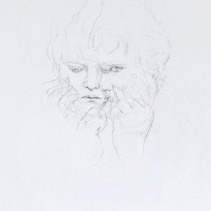 Kind (III) - potlood op papier – 78 x 58 cm – 2016