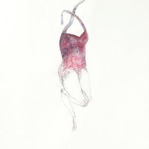 Zonder titel Nr.40 (Serie 1-50) – potlood, aquarel op papier - 50 x 40 cm – 2012
