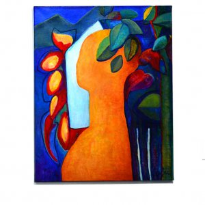 Farewell tot he house  (2011)   Acryl/linnen 100 x 80 cm