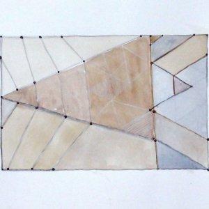Extra Terrestris 2016 acryl op papier 40x30 cm