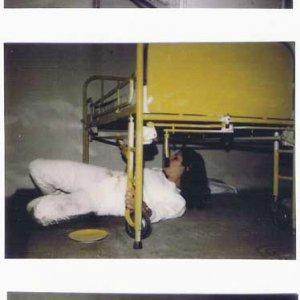 Beeldstroom Aorta (1982) Performance/installatie rond ziekenhuisbed (solo)