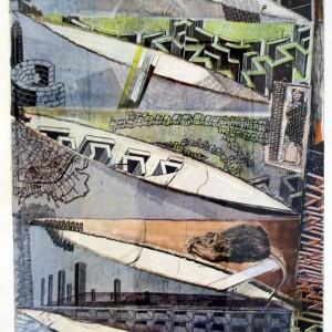 Wandeling door Skinnerbox, 100 x 80 cm
