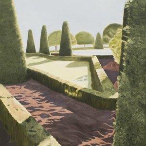 El Retiro 2, olieverf op doek, 180 x 90
