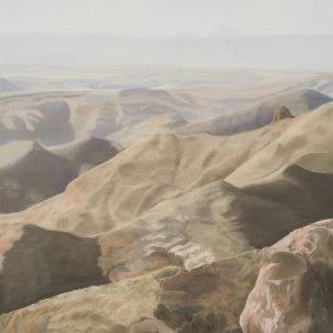 El disierto, olieverf op doek, olieverf op doek, 200 x 185