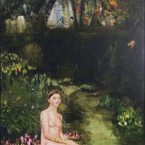 Een Ontmoeting, 2019, Olieverf schilderij, 100x130cm