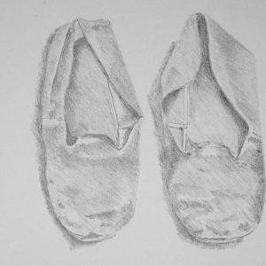 Sloffen Steendruk 24-32 cm