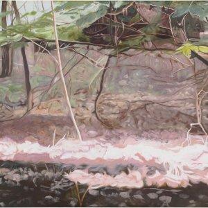In het voorbijgaan, olieverf op doek, 110 x 190