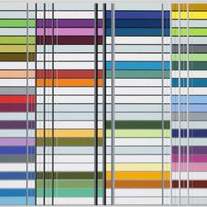 Ditty Ketting, Untitled, 391, 96 x 256 cm, 2013