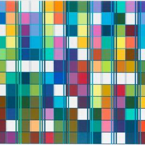 Ditty Ketting, Untitled 434, 120 x 210 cm, 2016-2017