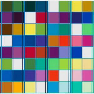 Ditty Ketting, Untitled 448, 80 x 160 cm, 2017