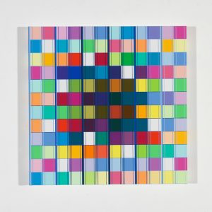Ditty Ketting, Untitled 460, 60 x 60 cm, 2018
