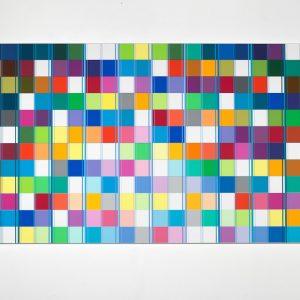 Ditty Ketting, Untitled 464, 120 x 240 cm, 2018