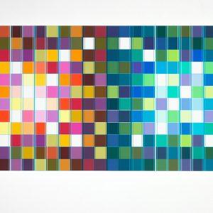 Ditty Ketting, Untitled 465, 60 x 120 cm, 2018