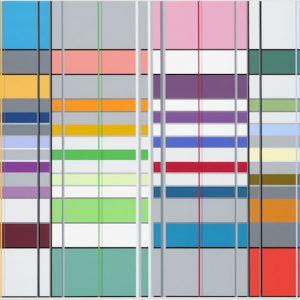 Ditty Ketting, Zonder titel-Untitled 394, 96 x 256 cm, 2013