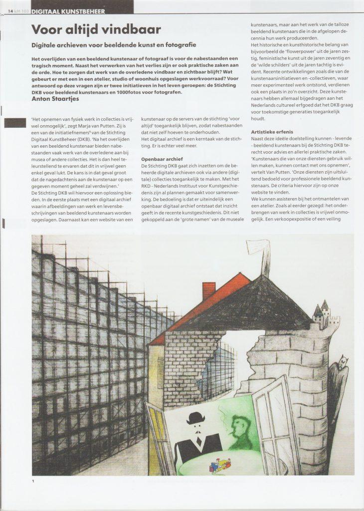 Km 103 Interview DKB Marja Annechien okt 2017-2