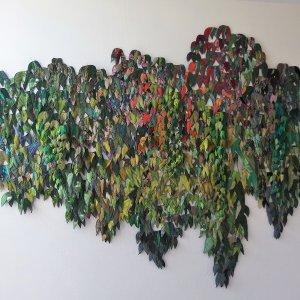 Ivy, 2018, Textiel-, 350 x 250 cm