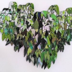 Little Ivy, 2019, Textiel, 50 x 40 cm
