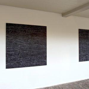Kruimer-Gerda-2-paintings-for-exhibition-Order-is-Half-of-Life-in-Vishal-Haarlem-2017