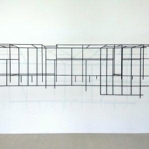 Gerda Kruimer-3D-Grid-Drawing 2007-in Breed Art Studios-2019