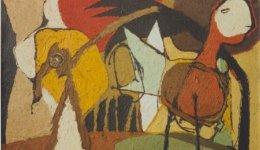 Kruiningen_Harry_van_Compositie_met_vogel_1960