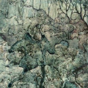 De meisjes in het sprookje, 1980, gouache op papier, 34 x 24 cm