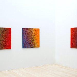 Martha Scheeren- overview untitled 2015- acrylic on canvas- 80x80 cm
