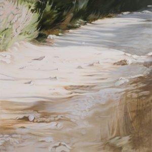 Pad 1, olieverf op doek, olieverf op doek, 250 x 150