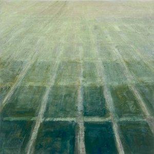 Polderland?, 2020, olie op linnen, 60x60 cm