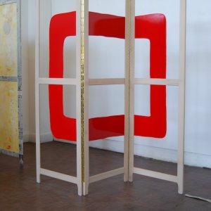 Project Oranda-E Leiden, 2009, hout + gelakt hout, ca. 200x180cm