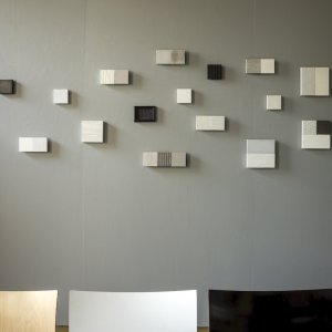 Compositie, 2016, gemengde techniek, diverse formaten