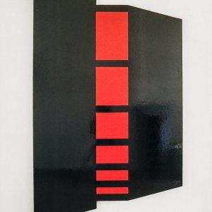 Het gerief van de afstand,1992,wandobject,200x121x4cm