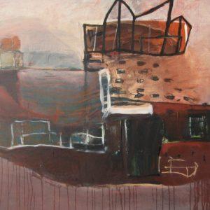 Sluis, 2009, acryl op linnen, 100 X 120