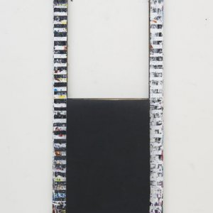Window, 2011, schilderen, 120 x 50 cm
