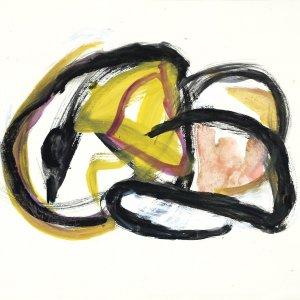 'Spring', 2005, 55x75cm, gouache op papier