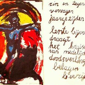 Christo torerodor, 1966, kleurlitho, 44x 31cm