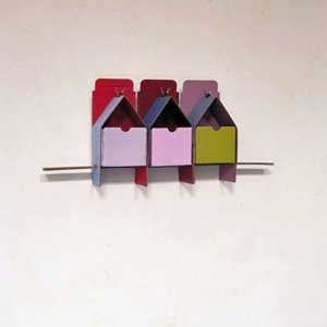 Driehuis, 2000, wandreliëf, 65 x 30 x 11 cm