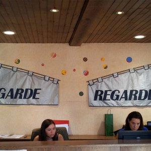 En Garde, 2014, deel van locatieproject voor TouristOffice Dourdan