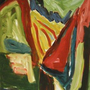 'Woods', (nr. 4.099), 1998, 170x135cm, olieverf op linnen