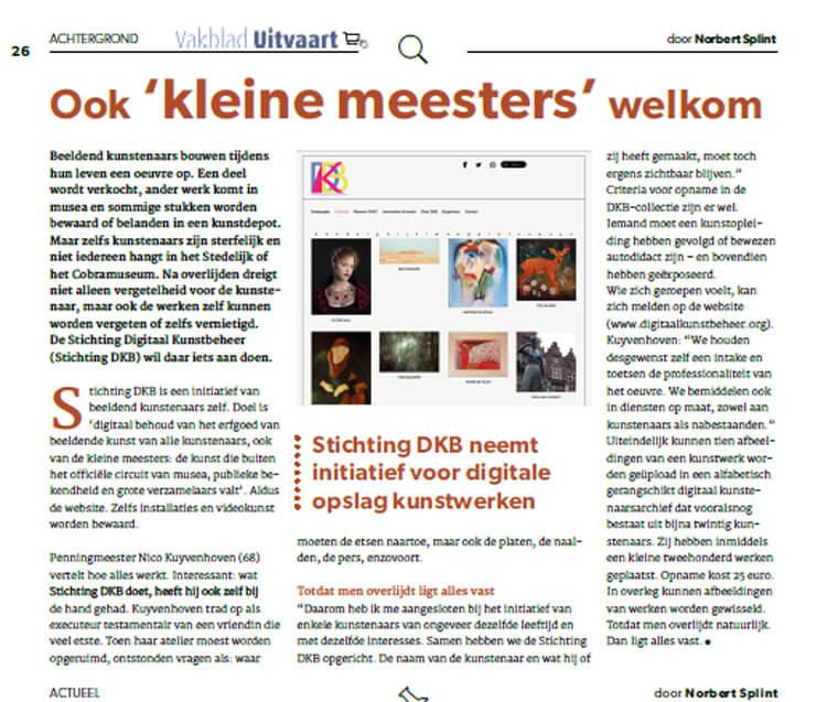 artikel-uitvaartblad