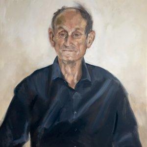 Gert Middelbeek, 2018, olieverf op doek 70x60cm